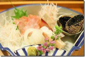 O sashimi moriawase