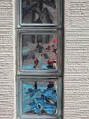 ココマ腰壁タイプのガラスブロック