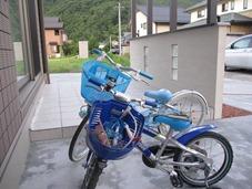 自転車置き場も兼ねてココマ腰壁タイプ