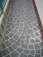 ステンシル工法の床