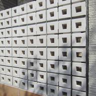 ココマテラスブリーズブリックの壁