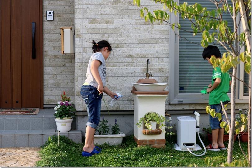 立水栓スタンドウォッシュリリーで楽しくなる暮らし