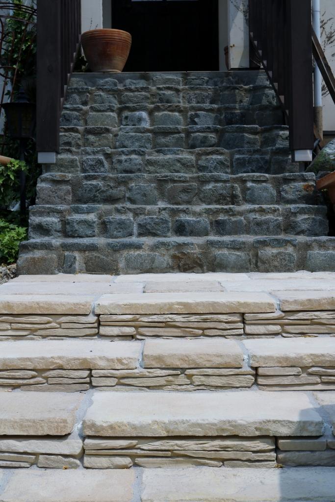 ブラッドストーンで作る通路の階段