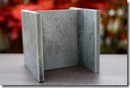 Rust silver Aluminum Hsteel 8764