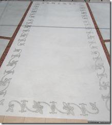 Konkurīto moyō bordet art の土間