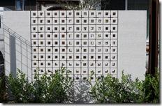 ブリーズブリックキュービツクフォーホワイトで壁を作る