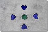 blue Furawā hāto Konkurīto yuka ume 1770