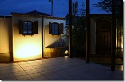中庭のエクステリア照明5095