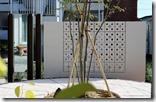 エクステリアで作る庭