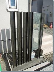 H鋼門柱と伊尚サイン
