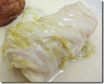 白菜の挽肉詰めクリーム煮207