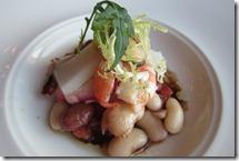 魚介とカネリーニ豆のサラダ トスカーナ風044