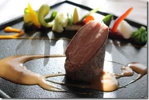 小布施フレンチ メゾン・ド・ナチュール 豚肉料理