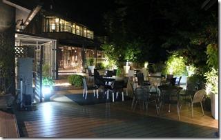 駒ヶ根LIXIL宿泊棟の夜