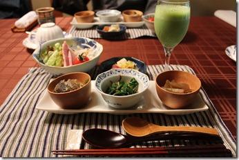 仙仁温泉岩の湯の朝食124