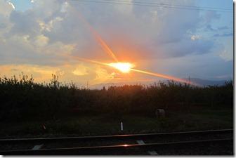 夕焼け オレンジの十字004