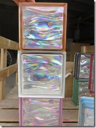 ガラスブロックグラデーション