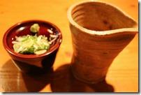 蕎麦の薬味と汁