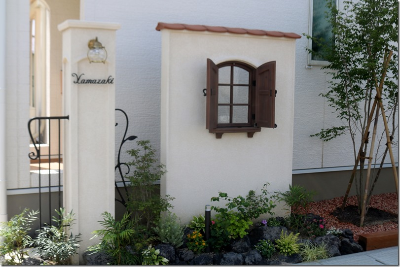 Dea's patio wall c&PatioKakuchū   8670