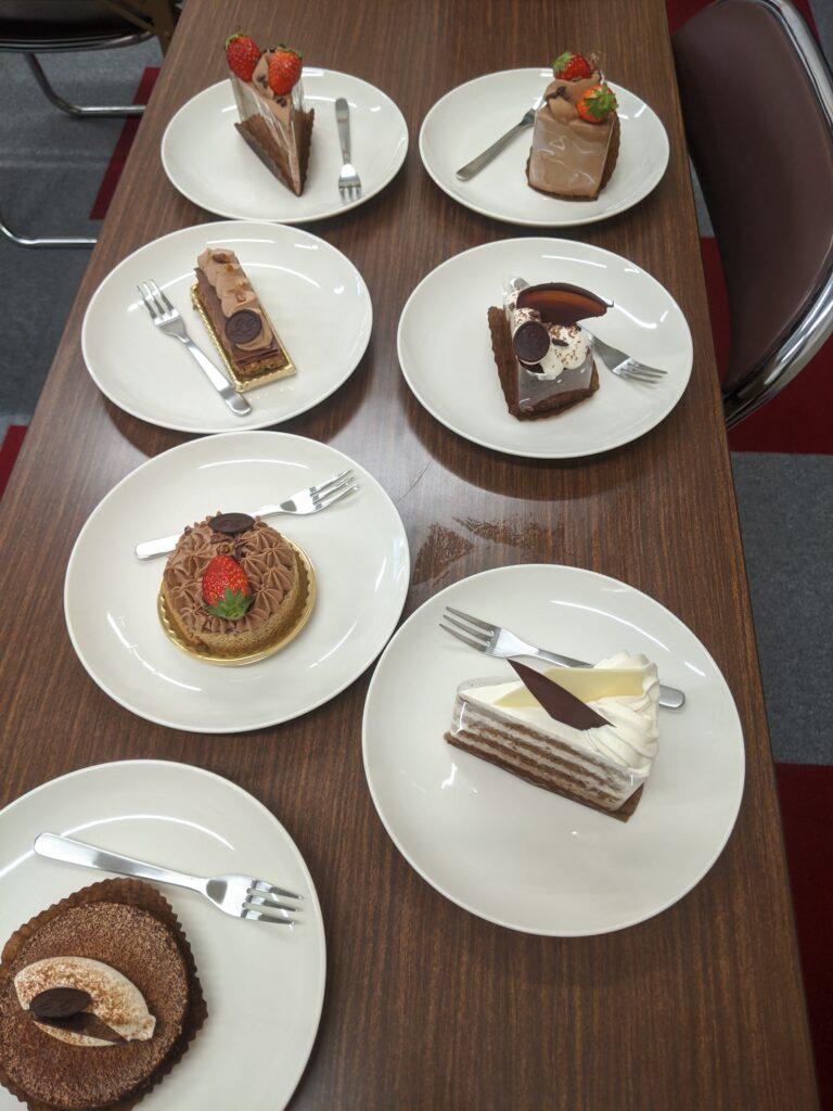 33のチョコレートケーキ