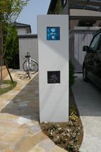 2008.5.7. 004グラフィカスリム門柱