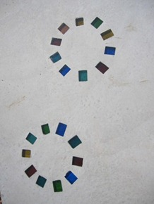カットダル10個で輪を作る