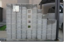 シンプル門柱1210 004