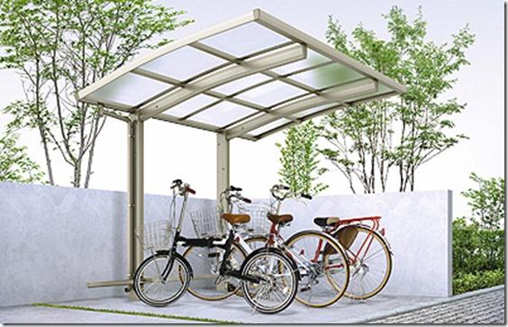 レイナポートグランミニ 自転車置き場