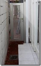 アイボリーの片門扉