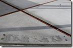 Konkurīto moyō bordet art Budō Sekō rei