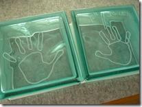 お客様ご自身で作るガラスブロツクデザイン26