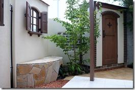 ディーズパティオウォールC&カンナキュートの中庭 5041