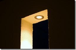 塗壁スリットのエクステリア照明