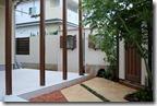 Dea's garden Canna Cute & patio wall c 5053