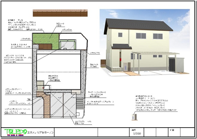 Exterior design that incorporates the customer's requirements